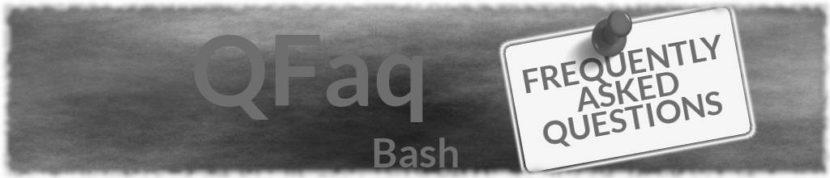 Faq Bash