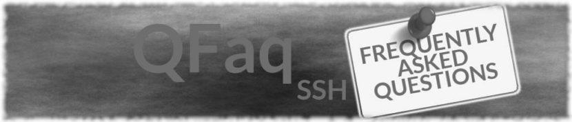 Faq SSH