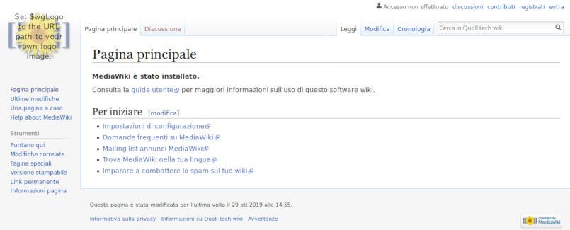 MediaWiki featured image