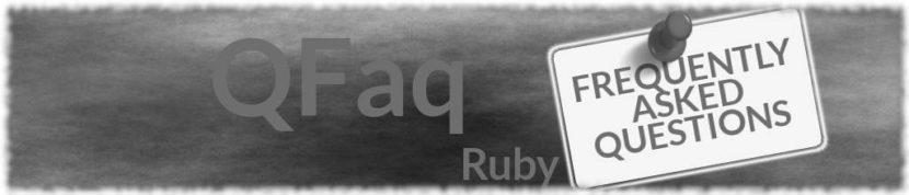 Faq Ruby