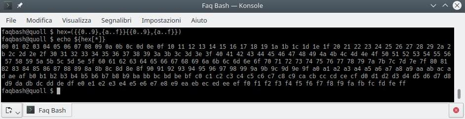 how to convert a decimal number to hexadecimal with bash
